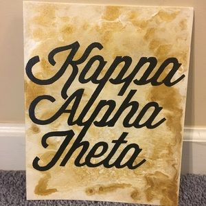Other - Kappa Alpha Theta 8x10 canvas